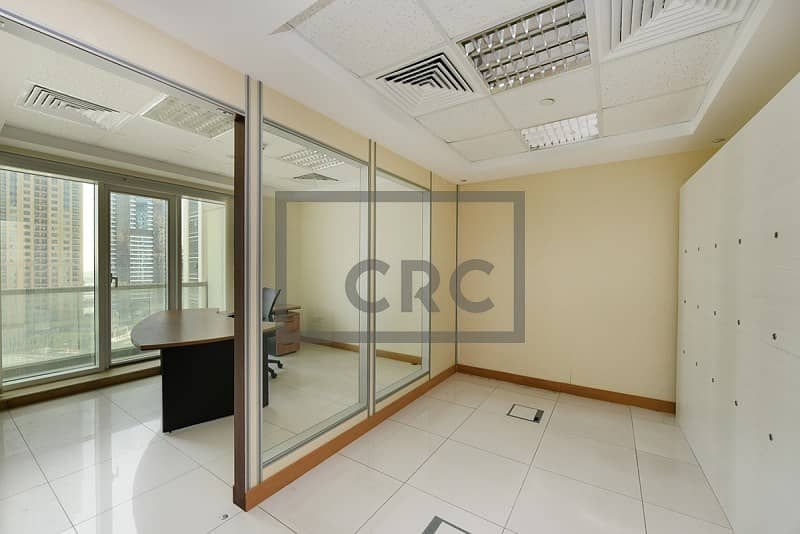 Fitted office for rent in Palladium Tower