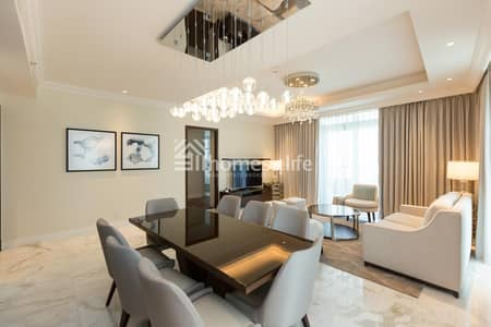 شقة 3 غرف نوم للايجار في وسط مدينة دبي، دبي - Amazing Deal in Brand New Hotel Address FV