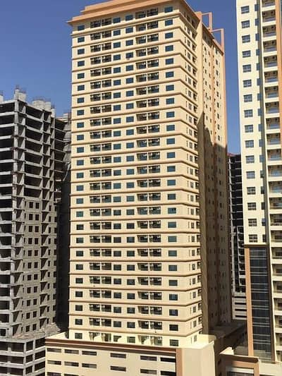 1 Bedroom Flat for Rent in Emirates Lake Towers, Ajman - HOT OFFER!! GIANT 1 BHK FOR RENT IN LAKE TOWER C4 TOWER 14000/- ONLY