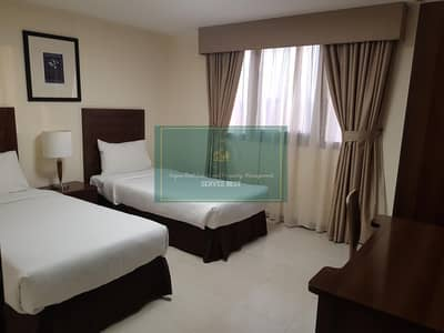 3 Bedroom Flat for Rent in Tourist Club Area (TCA), Abu Dhabi - Furnished 3 bed included electricity+Internet+gym