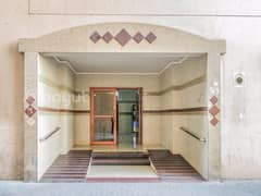 12 MONTHS CONTRACT PLUS 1 MONTH FREE OFFER FOR 2 B/R Hall Flat with Split Ducted A/C In Al Qasmia Area, behind FAB Bank