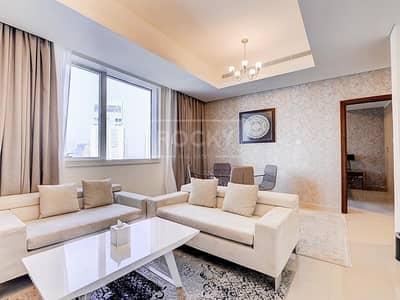 1 Bedroom Hotel Apartment for Rent in Dubai Marina, Dubai - Full Marina View   1 Bed   High Floor   Dubai Marina