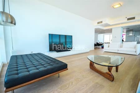 3 Bedroom Apartment for Sale in Jumeirah Beach Residence (JBR), Dubai - Upgraded | High Floor with Panoramic Views