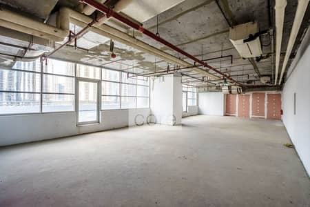 Office for Rent in Jumeirah Lake Towers (JLT), Dubai - Shell and Core | Low Floor | Close to Metro