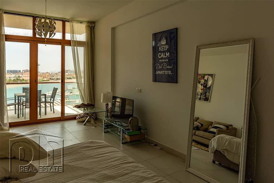 2 Luxury Studio / Vacant / Burj Al Arab Views