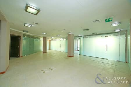 Office for Rent in Old Town, Dubai - Partitioned   Lake Views   7 Parkings
