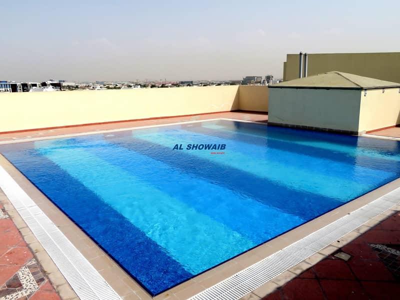 13 Wonderful 1 Br With Pool & Gym opp Copthorne Hotel Al Garhoud