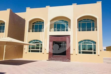 7 Bedroom Villa for Rent in Shakhbout City (Khalifa City B), Abu Dhabi - 7BR villa with Private entrance & parking