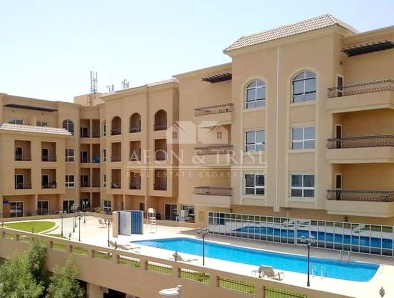 2 Spacious 2 BR Apartment with Open Kitchen I Pool View