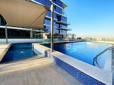 Studio for Rent in DAMAC Hills (Akoya by DAMAC), Dubai - Community View | Kitchen Appliances | High Floor