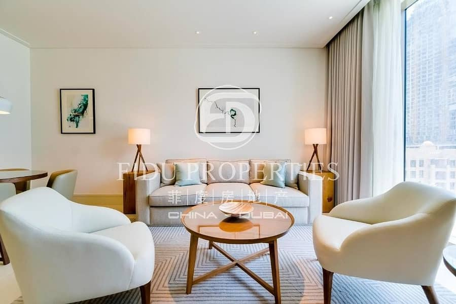 2 Brand New | Fully Furnished | Middle Floor