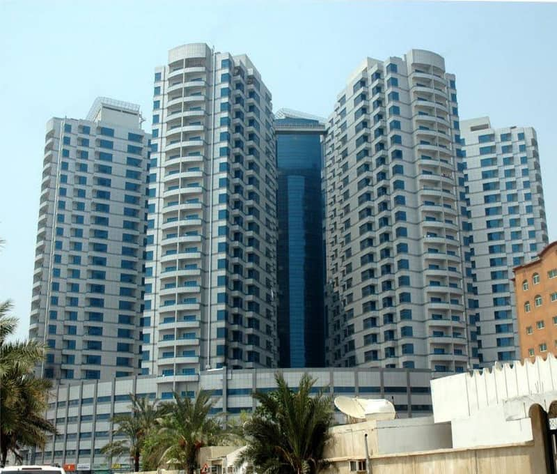 Spacious Studio in Falcon Towers for Rent