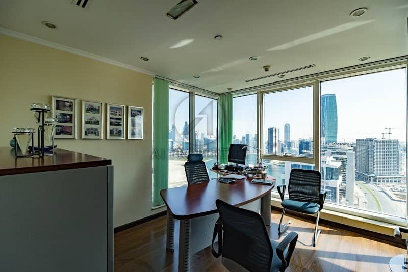 Fully Furnished Office| Full Lake View | Parking