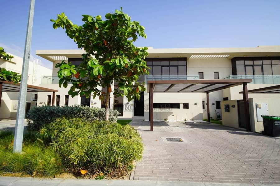 24 Park Facing 3BR Townhouse in DAMAC Hills
