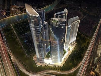 Studio for Sale in Business Bay, Dubai - AYKONic Tower in heart of the city | Breathtaking Canal View - Offplan