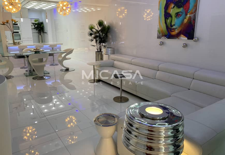 2 One of a kind || In house Cinema || Furnished.