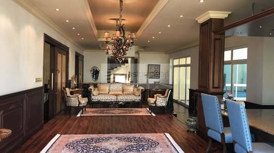 4 Bedroom Villa for Rent in Al Warqaa, Dubai - Luxuriously Furnished 4 BR+Driver+Maids Room Villa