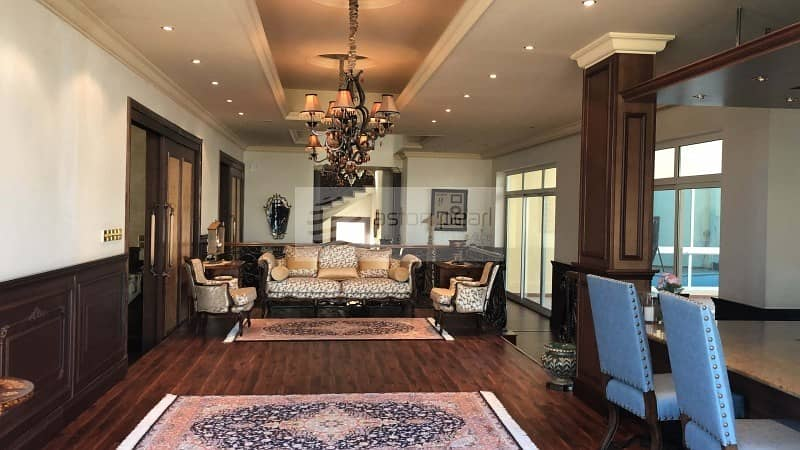 Luxuriously Furnished 4 BR+Driver+Maids Room Villa