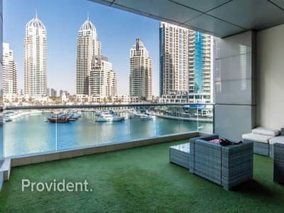 2 Bedroom Apartment for Sale in Dubai Marina, Dubai - Gigantic 2 b/r with maid's and study room