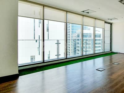 Office for Rent in Al Barsha, Dubai - Fitted Office with 2 Partitions | Near MOE