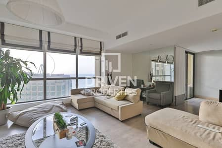2 Bedroom Apartment for Rent in Jumeirah Beach Residence (JBR), Dubai - Elegant and Spacious 2 Bed Apt | Sea Views