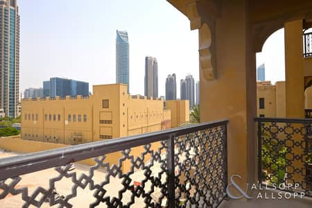 1 Bedroom Apartment for Rent in Old Town, Dubai - One Bedroom   Unfurnished   Utility Room