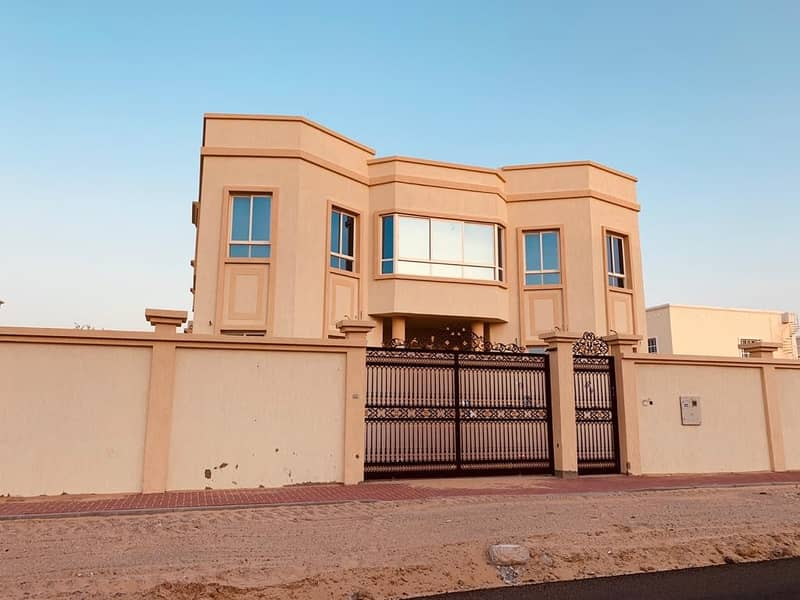 Villa for sale the first inhabitant of Al Hamidiya Ajman a great location close to the services and Sheikh Mohammed bin Zayed Street