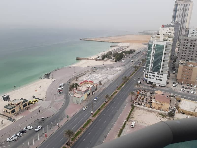 Look No Further! Get you elegant apartment in Ajman Corniche Residence with 2 BHK, 3 BATHS