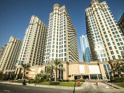 2 Bedroom Apartment for Rent in Dubai Production City (IMPZ), Dubai - With Parking | Front Side View |