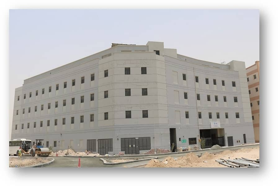 Jebel Ali Labour Camp | 333 Rooms| Plenty of Parking Space.