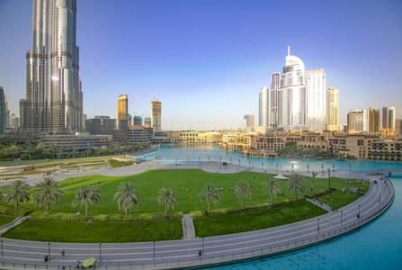 3 Bedroom Flat for Rent in Downtown Dubai, Dubai - SPACIOUS|Furnished|Stunning View of Burj|Free AC