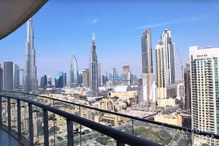 فلیٹ 2 غرفة نوم للايجار في وسط مدينة دبي، دبي - Fully Furnished   Available Now   2 Beds