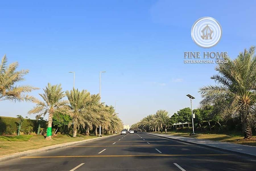 2 Amazing Commercial  Land in Khalifa City