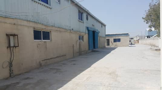 Warehouse for Rent in Industrial Area, Sharjah - 35000 Sqft FACTORY setup with 450 KW POWER/2 whs/11 rooms/Offices !!