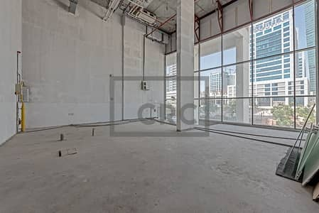 Shop for Rent in Business Bay, Dubai - High Ceiling | Central GAS | 25 KW Load