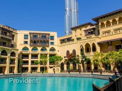 1 Bedroom Apartment for Rent in Old Town, Dubai - Sophisticated 1 b/r + Study room with Amazing View