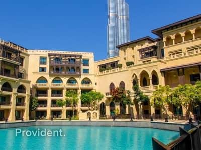 شقة 1 غرفة نوم للايجار في المدينة القديمة، دبي - Sophisticated 1 b/r + Study room with Amazing View