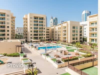 2 Bedroom Flat for Rent in The Greens, Dubai - Well-Maintained Vacant 2BR|Pool View|Chiller Free