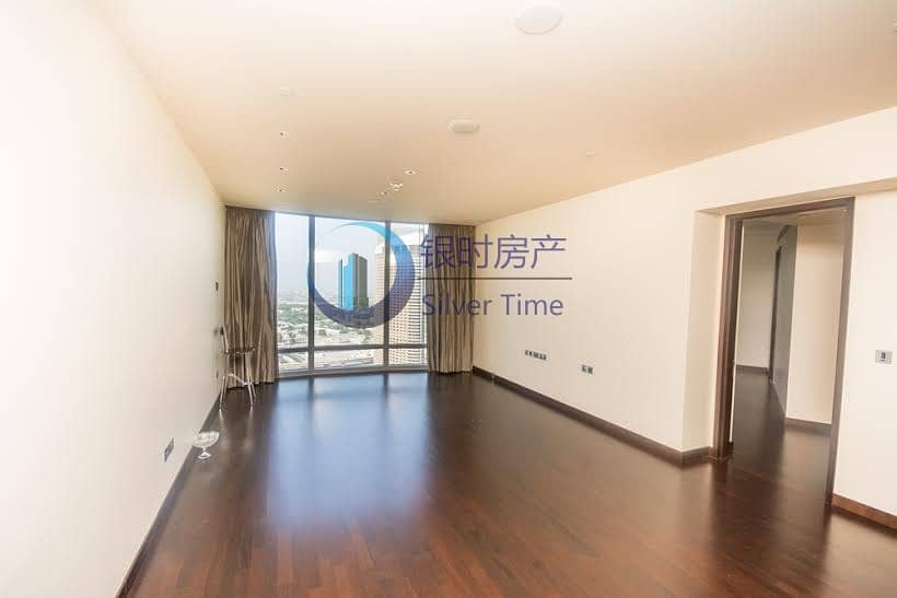 Full Fountain view 2 bedroom + Study apartment for Rent in The Burj Khalifa. Call Silver Time Properties today!