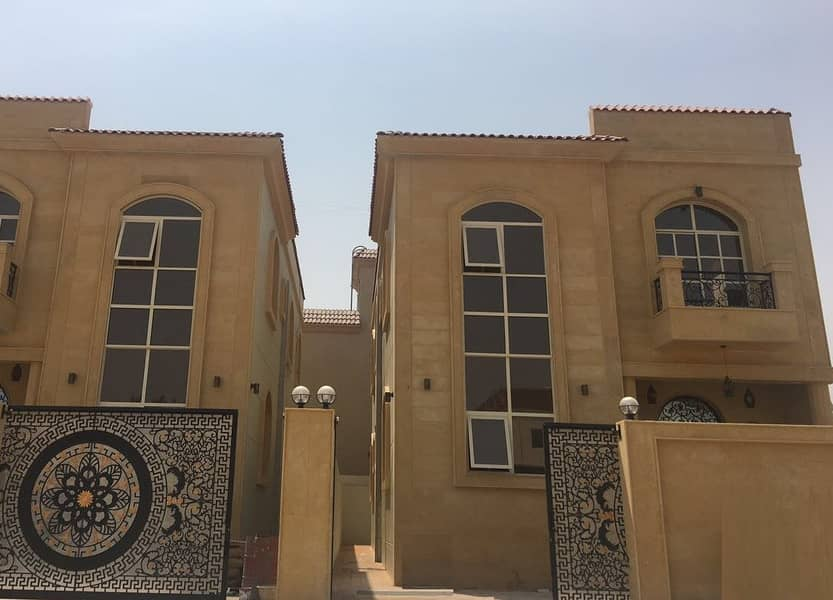 Fully stone  corner villa opposite the mosque in the finest areas of Ajman (Al Mwaihat 3) for rent for all nationalities