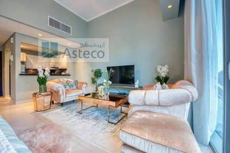 Studio for Rent in Dubai Marina, Dubai - Luxury | Fully furnished  | Studio with balcony