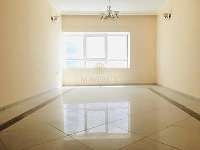 3 Bedroom Apartment for Rent in Al Mamzar, Sharjah - Sea View 3BHK+Maids+Store/R | Parking Free | 6Chqs