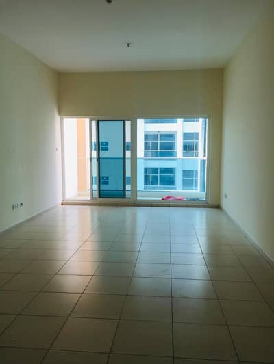 1 bhk biggest size partial city view for rent in ajman one