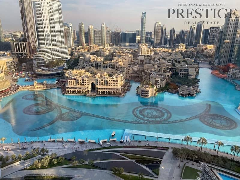 2 1 bed | Fountain view | Burj Khalifa
