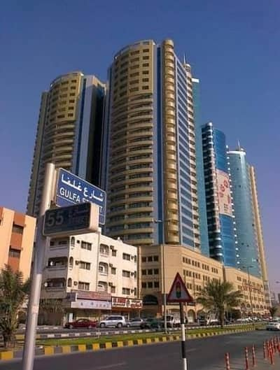 1 Bedroom Apartment for Rent in Ajman Downtown, Ajman - Horizon Towers: 1 Bed Hall (1287 sqft) very Spacious and Lavish