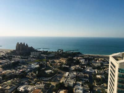 3 Bedroom Flat for Sale in Al Sawan, Ajman - 3 bhk full sea view with parking for sale in Ajman one tower
