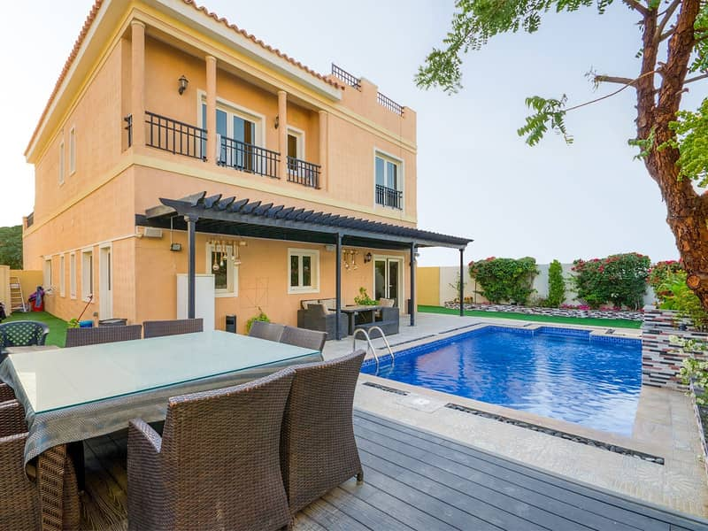 EXCLUSIVE | Mazaya A2 | Semi-Furnished with Pool