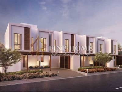3 Bedroom Townhouse for Sale in Al Ghadeer, Abu Dhabi - Zero Commission !  3BR. TH + Maid's Room