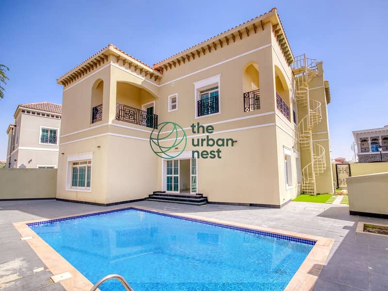 Vacant Brand New 5 Bed Villa with Private Pool