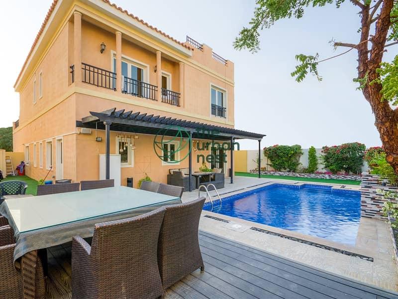 2 EXCLUSIVE | Mazaya A2 | Semi-Furnished with Pool